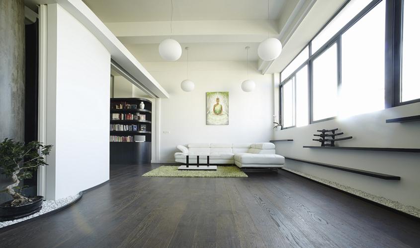 travaux décoration loft peinture